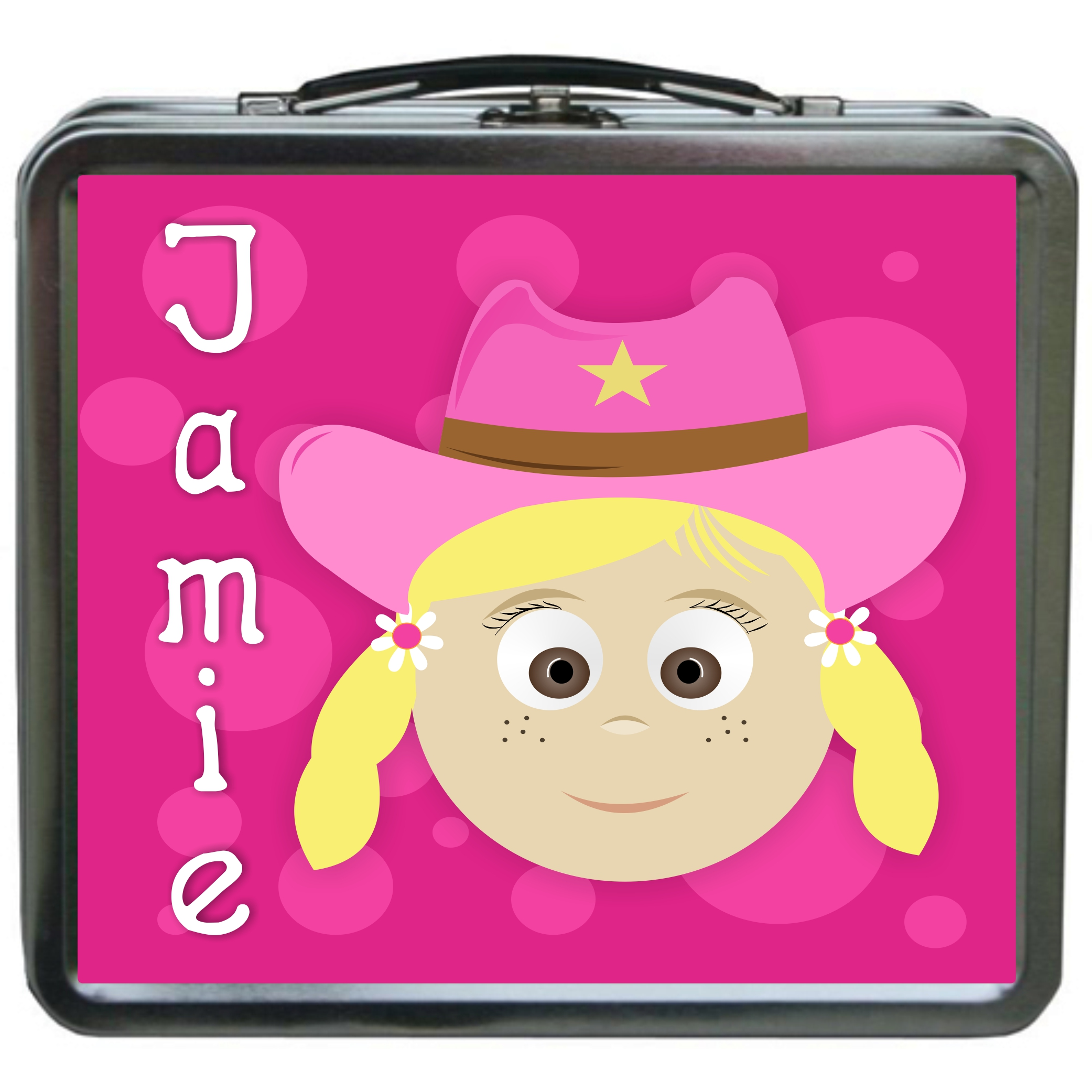 Little Me Girls Personalized Lunchbox Design Your Own Jamie
