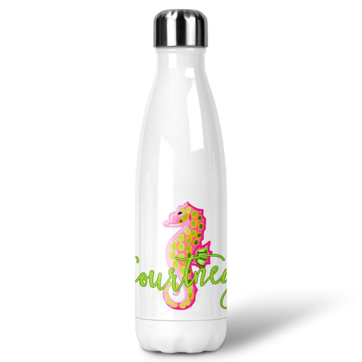 bf184ce9fc Seahorse Custom Personalized Water Bottle Sports Bottle – All Seasons Gifts